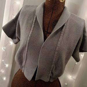 Women's cropped cardigan
